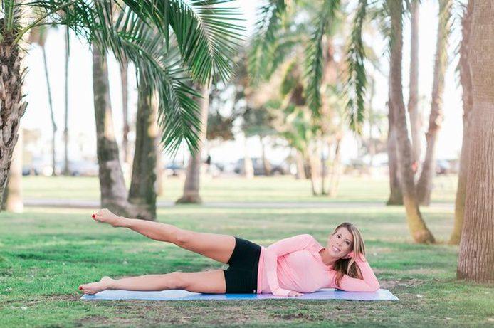 Este movimiento apuntará a tus caderas internas.