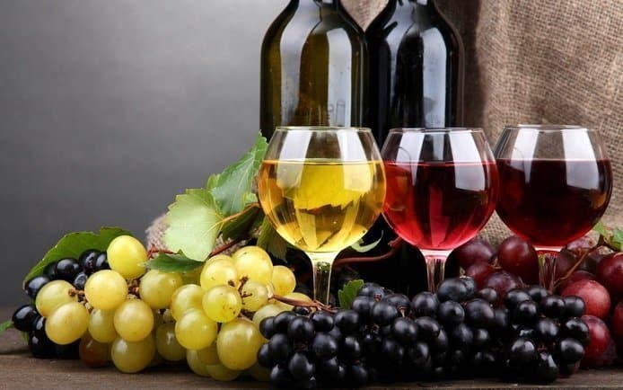 Cancer Useful Food Red Grape and Wine