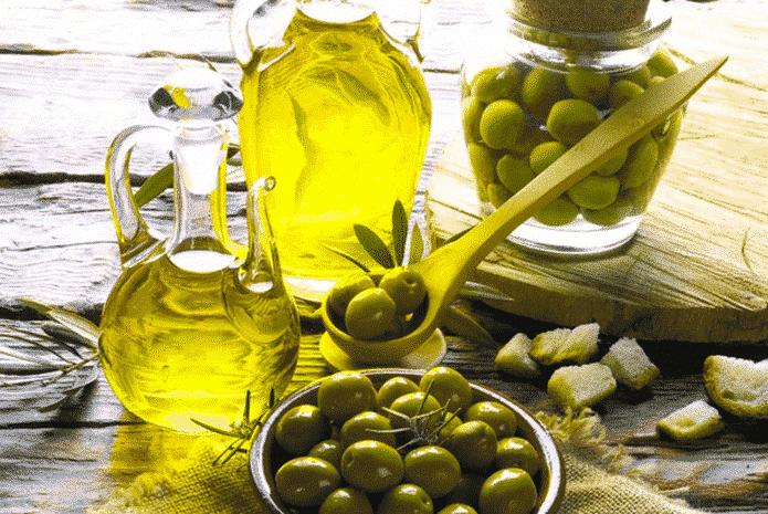 Cancer-användbar-mat & olivolja