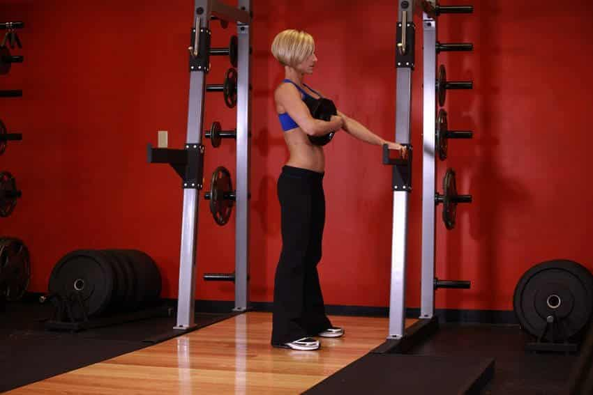 Weighted Sissy Squat - Bacak Egzersizleri - GÜÇLÜYAŞA