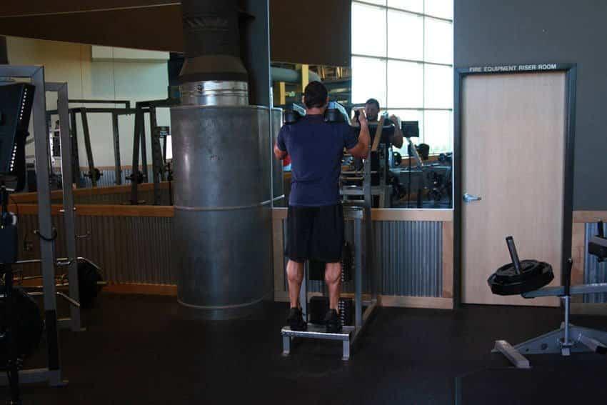 Постоянные поднятия икры - Упражнения для ног - GÜÇLÜYAŞA