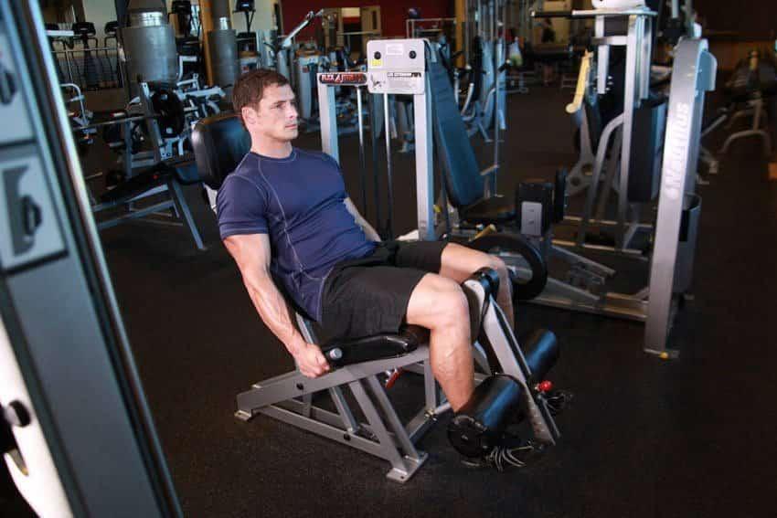 Разгибание ног - Упражнения для ног - GÜÇLÜYAŞA