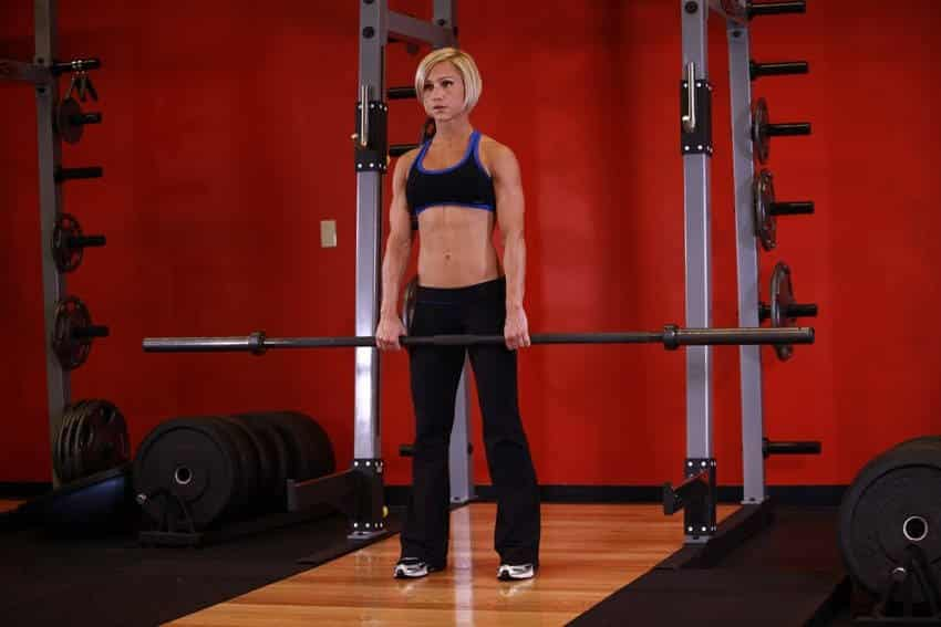 Barbell Shrug - Trapez Egzersizleri - GÜÇLÜYAŞA