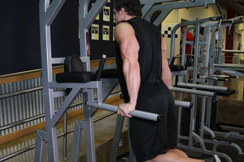 Dips (Triceps Versiyonu) - Trisep Egzersizleri - GÜÇLÜYAŞA