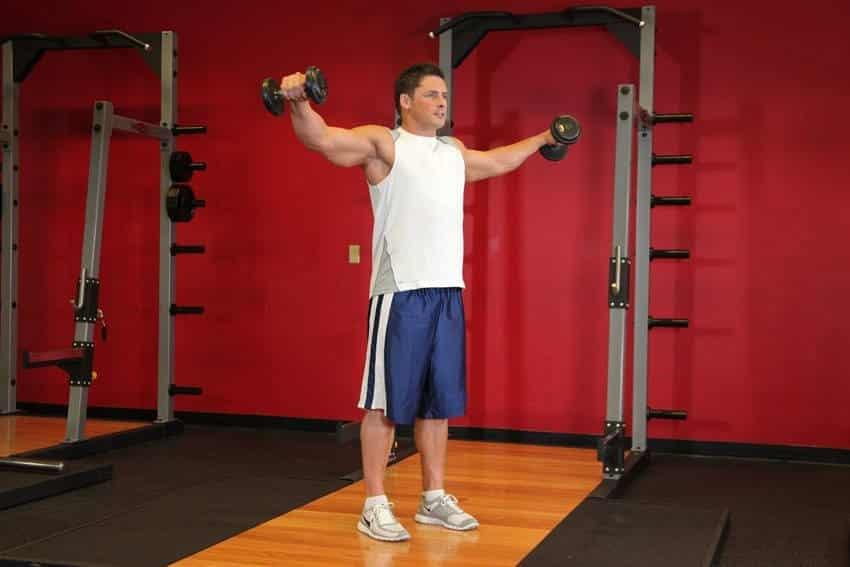 Dumbbell Lateral Raise - Omuz Egzersizleri - GÜÇLÜYAŞA