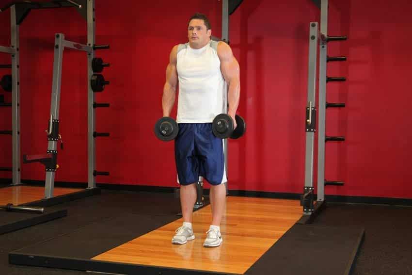 Dumbbell Shrug - Trapez Egzersizleri - GÜÇLÜYAŞA