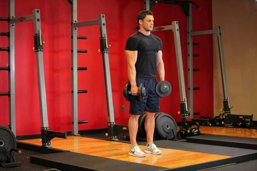 Становая тяга с жесткими ногами - Упражнения для ног - МОЩНЫЙ