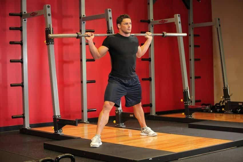 Barbell Side Split Squat - Bacak Egzersizleri - GÜÇLÜYAŞA