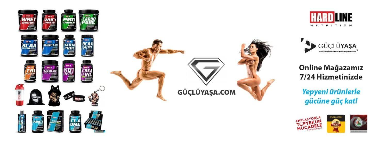 Güçlüyaşa.com - Online Sporcu Ürünleri Mağazası