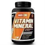 Hardline Vitamin Mineral 120 Tablet - Online Sporcu Ürünleri Mağazası - Gucluyasa