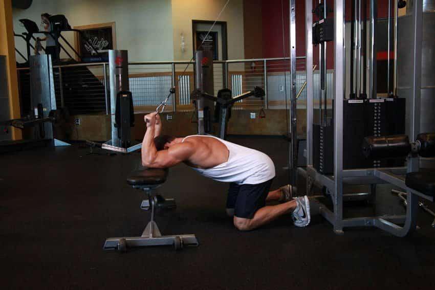 Kneeling Cable Triceps Extension - Trisep Egzersizleri - GÜÇLÜYAŞA
