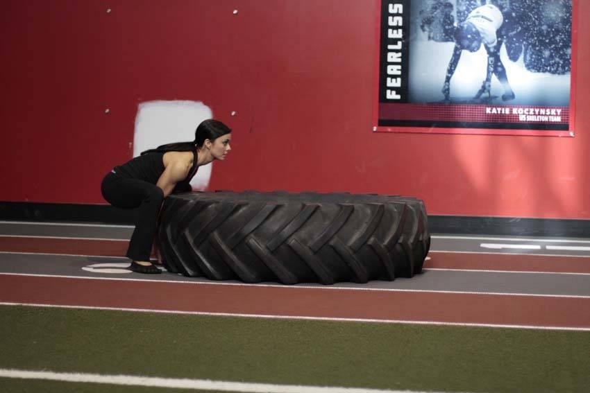 Tire Flip - Bacak Egzersizleri - GÜÇLÜYAŞA