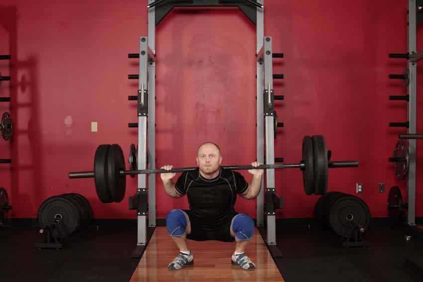 Олимпийский Приседания - Упражнения для ног - МОЩНЫЙ