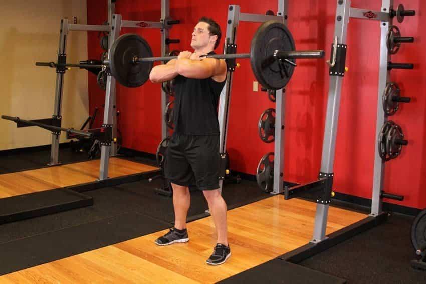 Front Barbell Squat - Bacak Egzersizleri - GÜÇLÜYAŞA