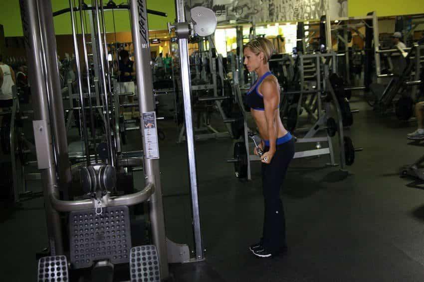 Reverse Grip Triceps Pushdown - Trisep Egzersizleri - GÜÇLÜYAŞA