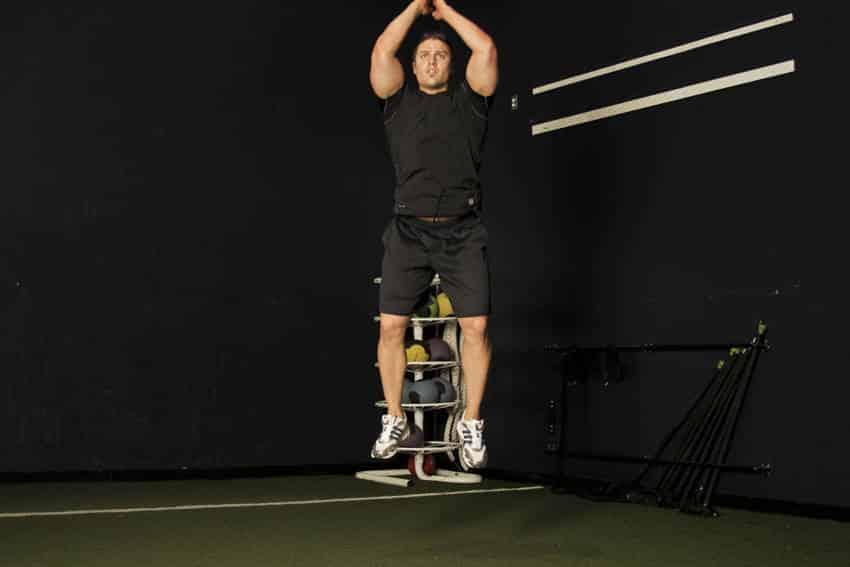 Ракетный прыжок - Упражнения для ног - МОЩНЫЙ