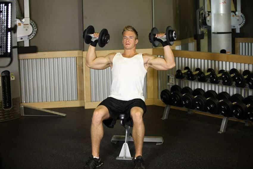 Seated Dumbbell Press - Omuz Egzersizleri - GÜÇLÜYAŞA