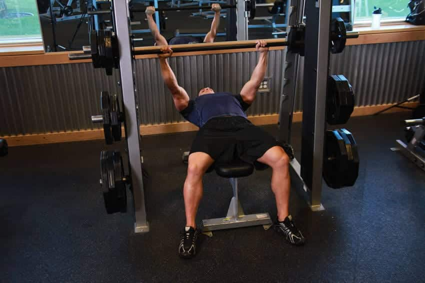 Smith Machine Bench Press - Göğüs Egzersizleri - GÜÇLÜYAŞA