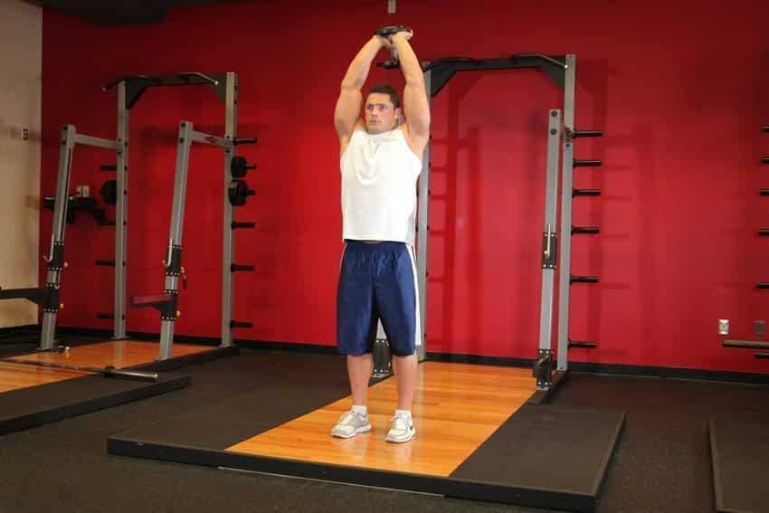 Standing Dumbbell Triceps Extension - Trisep Egzersizleri - GÜÇLÜYAŞA
