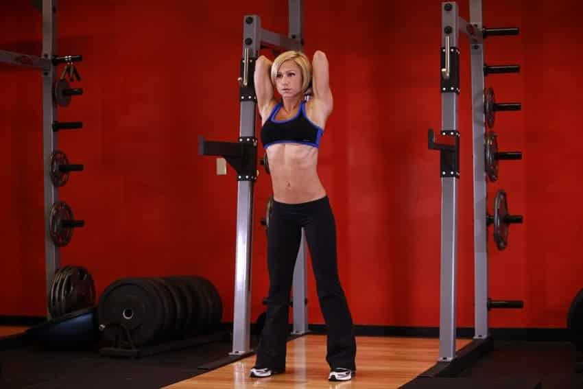 Stående håndvægt Triceps-udvidelse - Tricep-øvelser - GÜÇLÜYAŞA