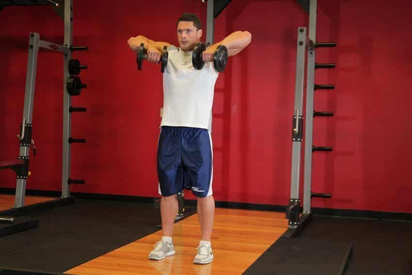 Standing Dumbbell Upright Row - Trapeze Exercises - GÜÇLÜYAŞA