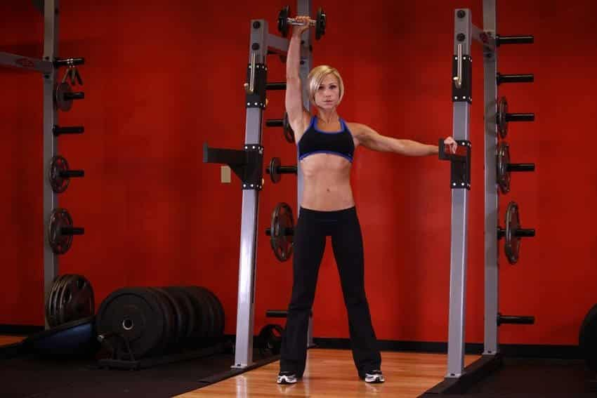 Standing Palm-In One-Arm Dumbbell Press - Shoulder Exercises - GÜÇLÜYAŞA