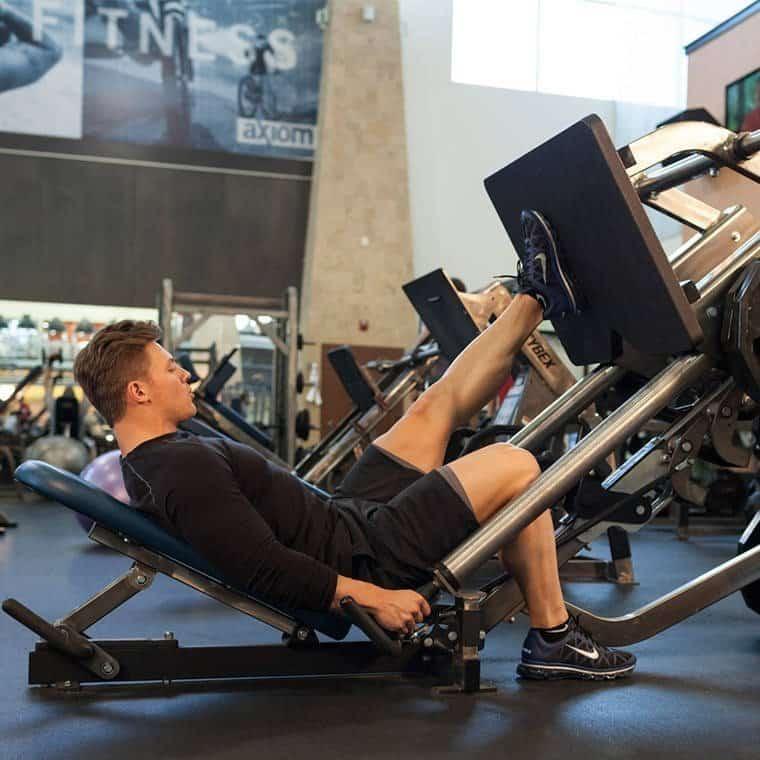 Single Leg Press - Bacak Egzersizleri - GÜÇLÜYAŞA