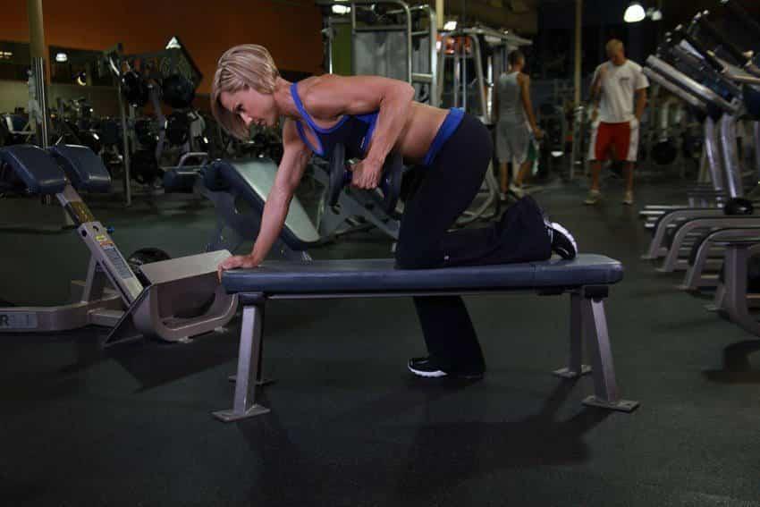 Tricep Dumbbell Kickback - Trisep Egzersizleri - GÜÇLÜYAŞA