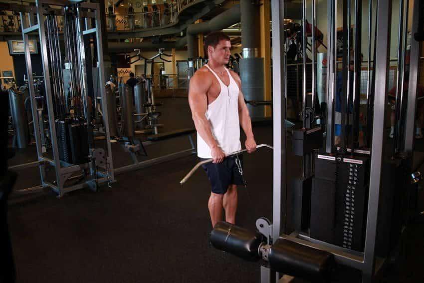 Upright Cable Row - Trapez Egzersizleri - GÜÇLÜYAŞA