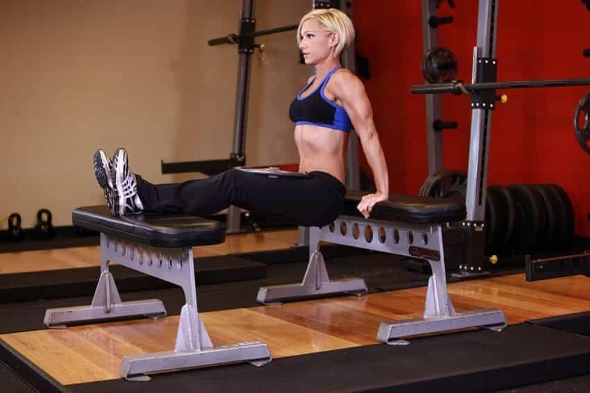 Weighted Bench Dip - Trisep Egzersizleri - GÜÇLÜYAŞA