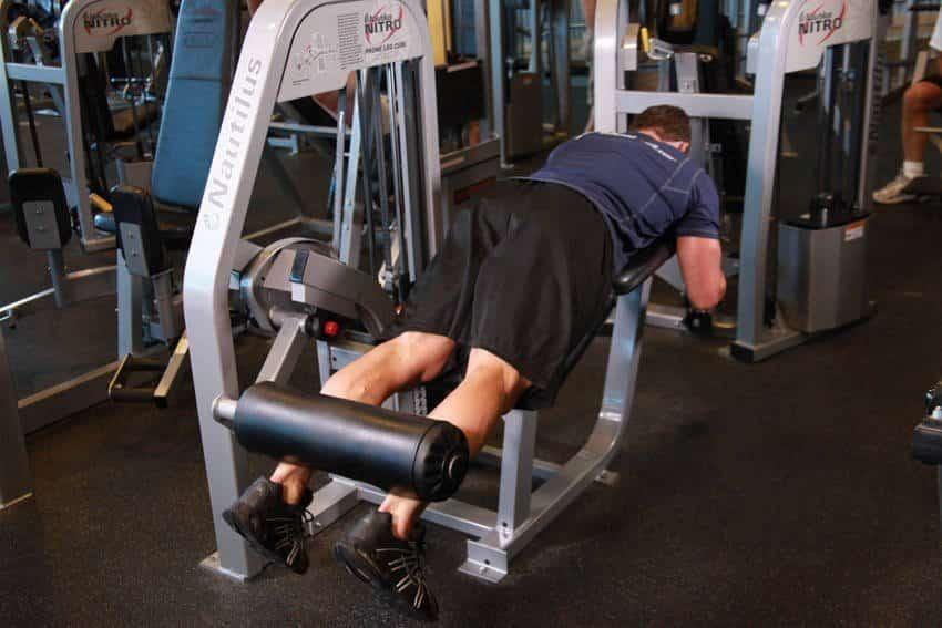 Lying Leg Curls - Bacak Egzersizleri - GÜÇLÜYAŞA
